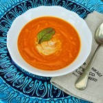 Creamy Butternut Squash and Tomato Soup