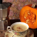 Pumpkin Spice Latte with Pumpkin Seed Milk