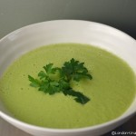 celeriac and cucumber soup